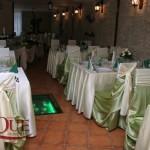 Decoratiuni nunta Ciric crem verde