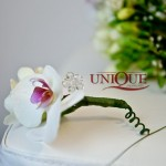 Floare mire phalaenopsis accesoriu cristal nunta Motel Bucium