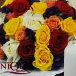 aranjament-nunta-trandafiri-rosii-galbeni-albi-roz