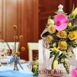 Aranjament floral colivii Unique Moments