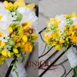 Decor nunta negru galben Bellaria