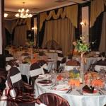 Decor masa invitati restaurant Capitol