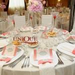 Decoratiuni nunta roz.