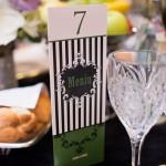 Detalii decor nunta negru verde Select
