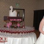 Masa primire sculptura gheata hortensie roz cafea orhidee Motel Bucium