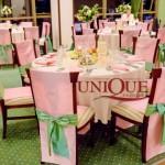 Motel Bucium Iasi decor nunta verde roz aranjamente florale