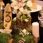 Decor nunta negru verde
