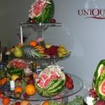 Providenta masa fructe suport sticla