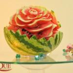 Sculptura pepene rosu