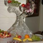 Suport fructe sculptura gheata