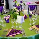 Decor masa invitati nunta Motel Bucium 2011