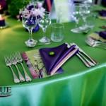 Decoratiuni nunta Motel Bucium verde mov tafta Unique Moments