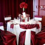 Decoratiuni nunta mese invitati Motel Bucium dantela tafta Unique Moments