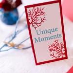 Accesorii decor masa rotunda nunta numar masa alb rosu turquoise tematica marina prezentare Motel Bucium