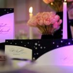 Set nunta carduri de mani numar masa detalii decorative nunta Iasi Astoria