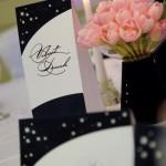 Set papetarie nunta card masa nume numar masa meniu lumanari lalele roz Astoria Iasi