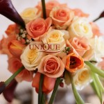 Aranjament floral cale trandafiri lalele