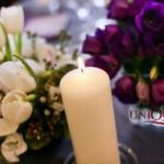 Decor nunta tematica Iasi argintiu mov roz flori de primavara lalele frezii Unique Moments