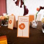 Meniu nunta decor masa rotunda Motel Bucium