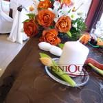 Motel Bucium aranjament floral masa prezidiu