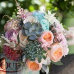 1Succulent bridal bouquet Unique Moments