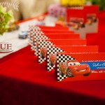 Place card meniu botez tematic